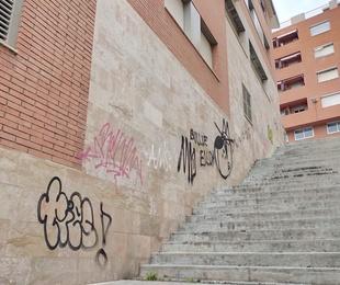 Limpieza de grafitis y protección de fachadas
