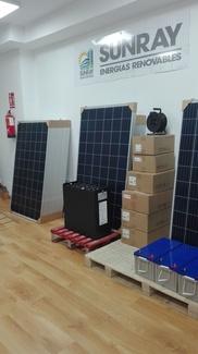 Paneles solares fotovoltaicos de 60 Células, 270 Wp