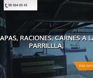 Restaurante con terraza en Valdés | Jardines del Marisol