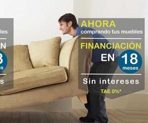 Financia tus muebles en 18 meses sin intereses