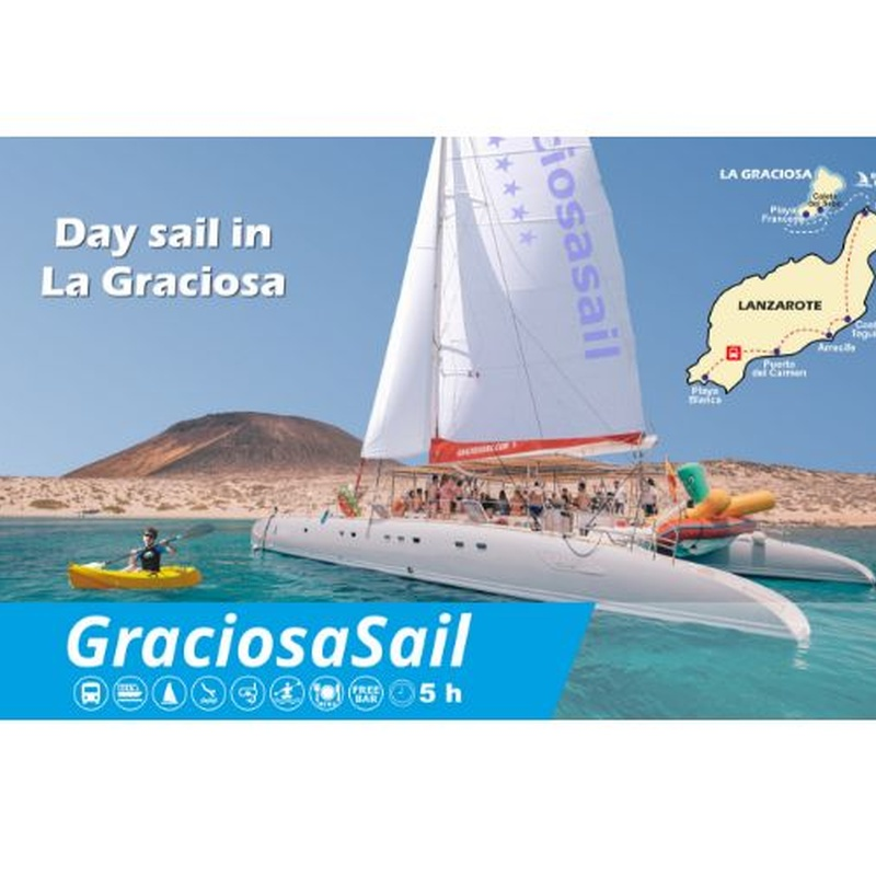 Graciosa Sail: Excursiones de Lanzarote Sea Tours