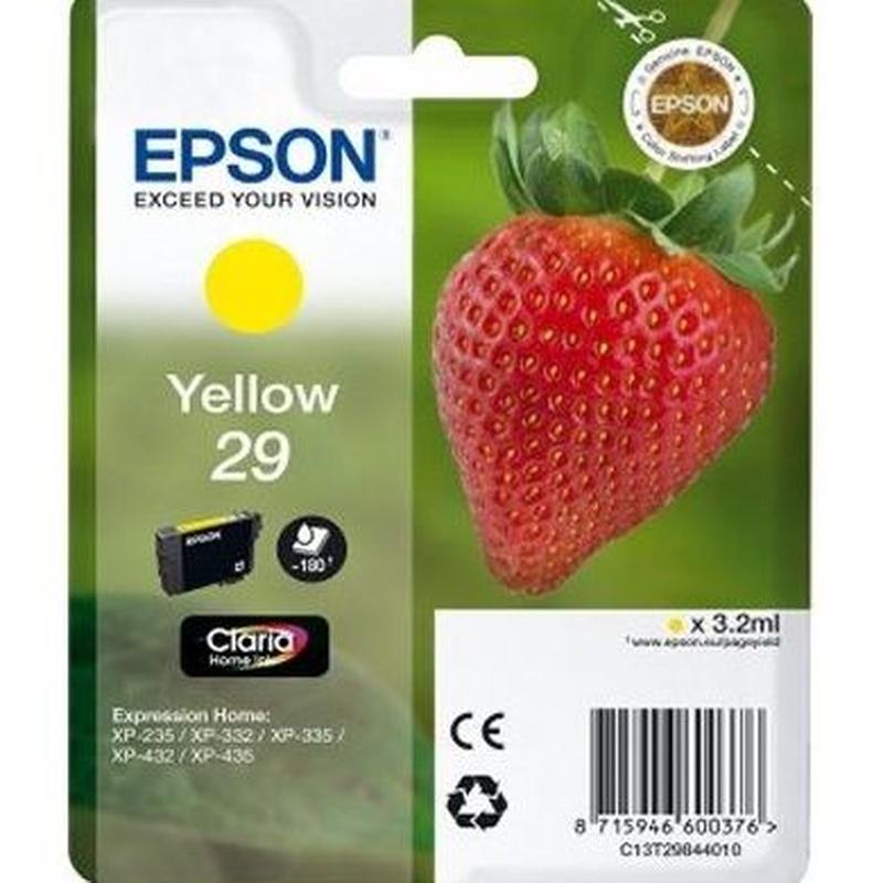 EPSON Cartucho T2984 Amarillo XP235/332/432 : Productos y Servicios de Stylepc