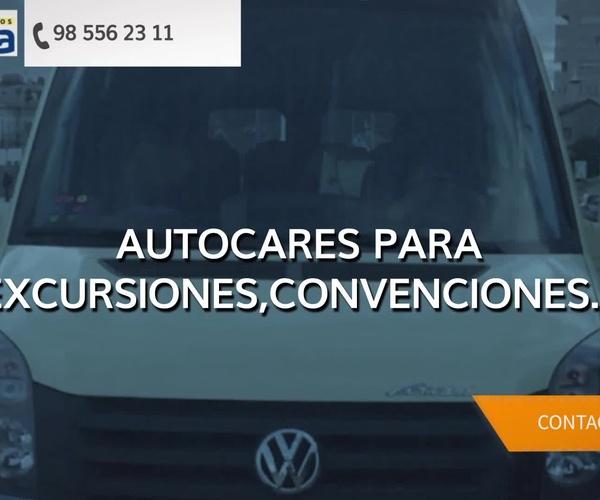 Alquiler de autocares en Asturias | Autos Villa