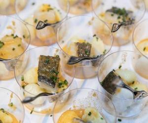 Degustación de productos Noruegos con Catering Domenico para empresas en Madrid
