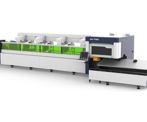 Máquina láser de corte por fibra para tubos metálicos HS-TH65