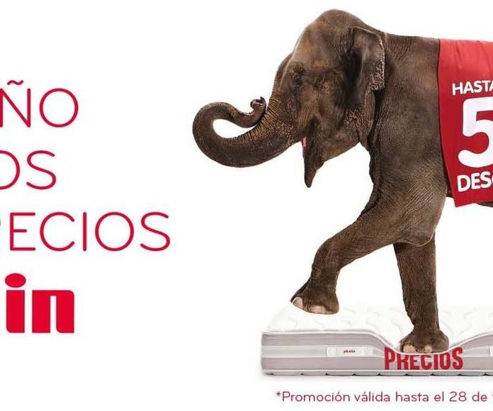 Rebajas en EV Colchonería: 50% dto y más en colchones Pikolin