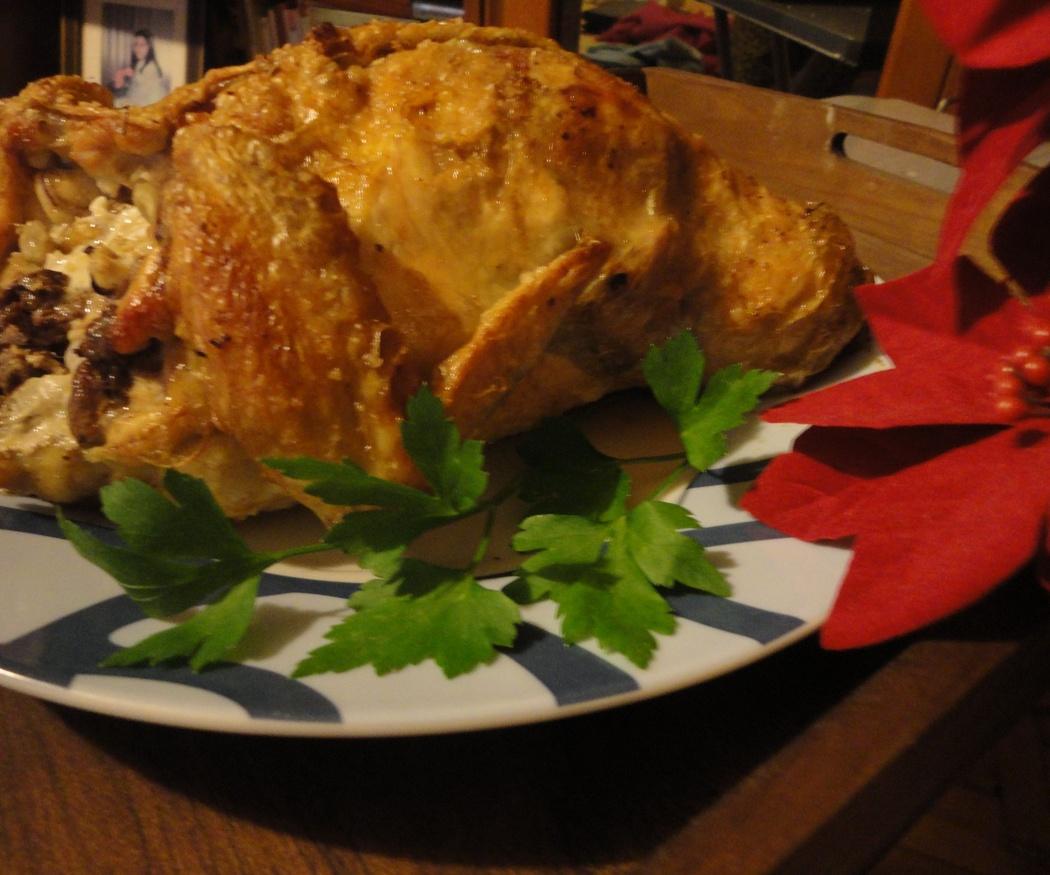 Un pollo asado para tus días de fiesta
