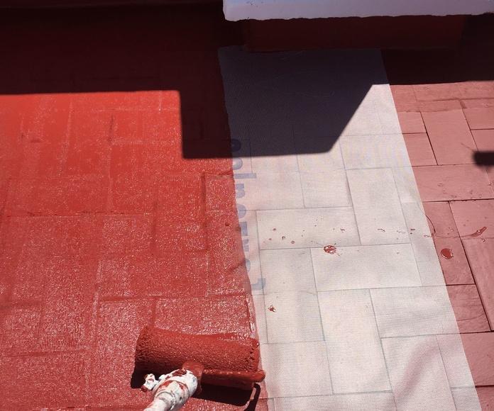 Pintura de cubiertas en Valencia