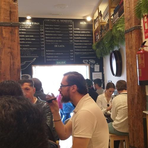 Tapas y pinchos Barrio de las Letras Madrid
