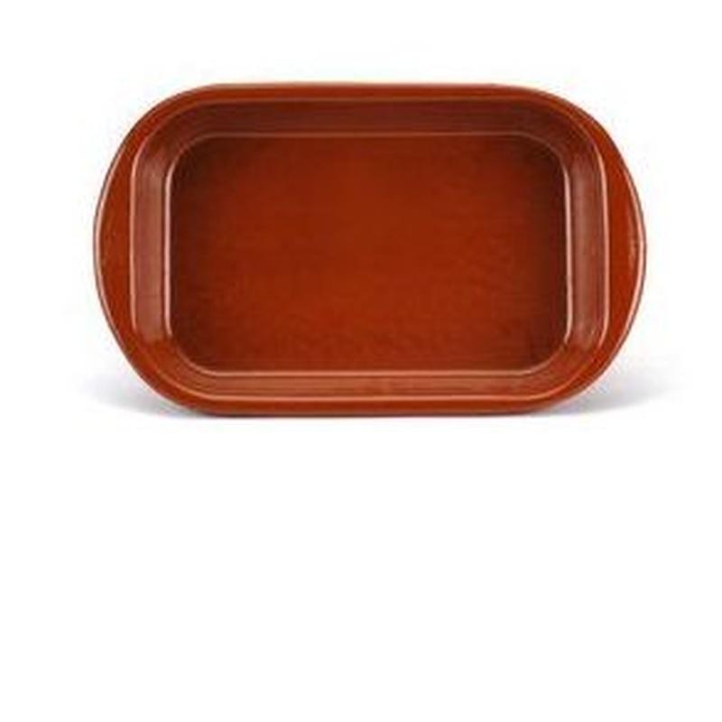 Fuente rectangular barro: Productos de Ferretería Baudilio
