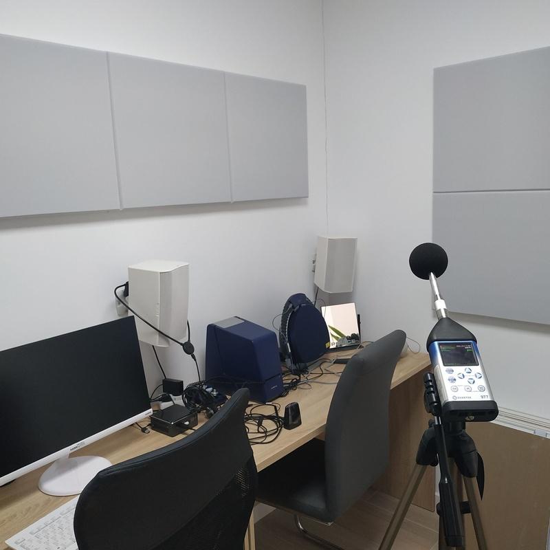 ENSAYO Y CERTIFICADO ACÚSTICO EN CABINAS DE AUDIOMETRÍAS: Productos y servicios  de Acoustic Drywall