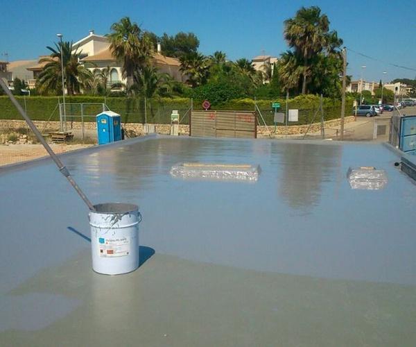 Impermeabilización poliurea en Almería