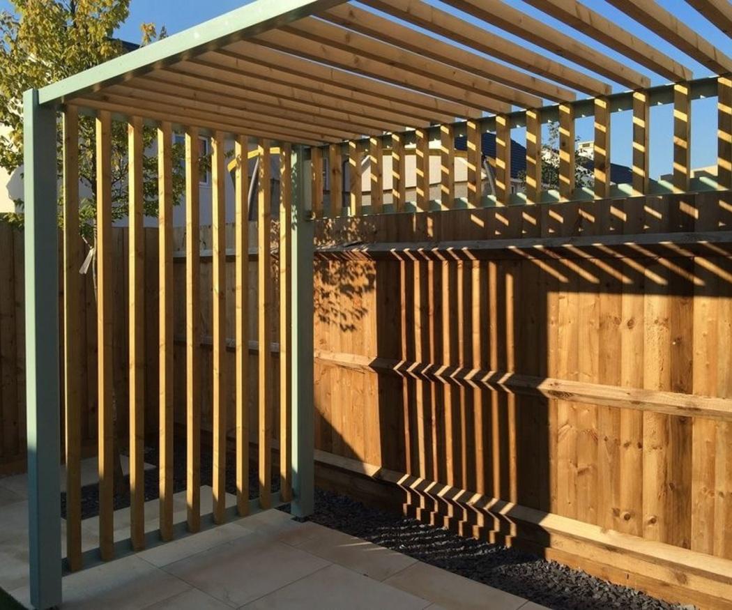 Cómo conservar estructuras de madera al aire libre
