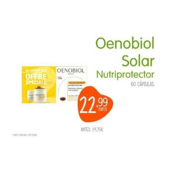 Oenobiol solar: TIENDA ON LINE de Farmacia Trébol Guadalajara