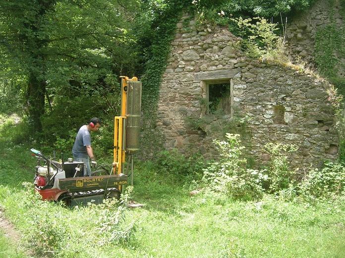"""Estudio geotécnico para el """"Proyecto de rehabilitación del Molí del Cremat localizado en els Prats del Molinot al suroeste de la Crta C149 Km 183. TM Les Llosses (Girona). Ref. EGE108-2011."""