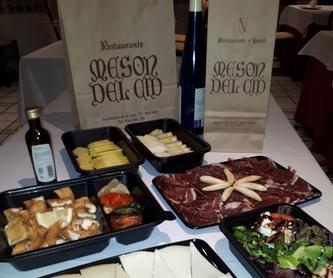 Menú Nochevieja 2020: Nuestra Carta y Menús de Restaurante Mesón Del Cid