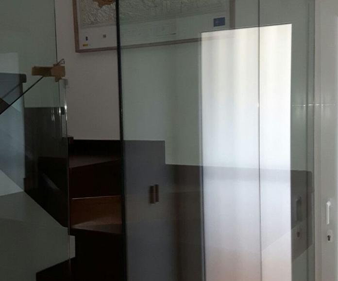 Barandillas de cristal: Nuestros productos de Cristalería Crespo