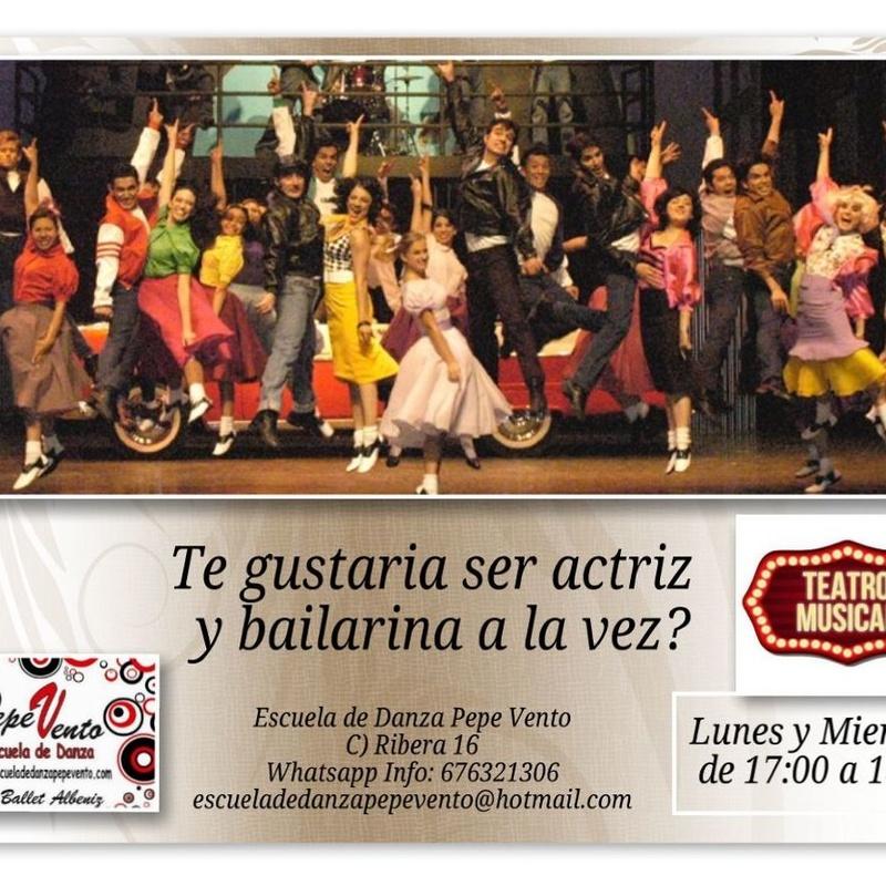 Teatro Musical: Clases de Escuela de Danza Pepe Vento
