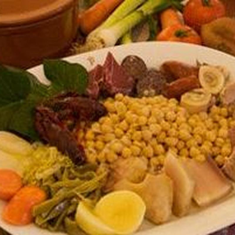 Platos de temporada: Carta de Restaurant Cal Coix