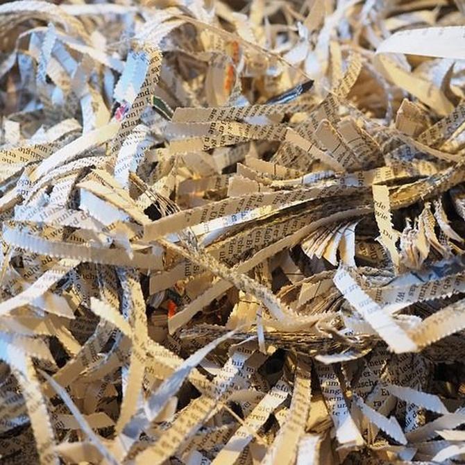 El reciclado de papel y cartón