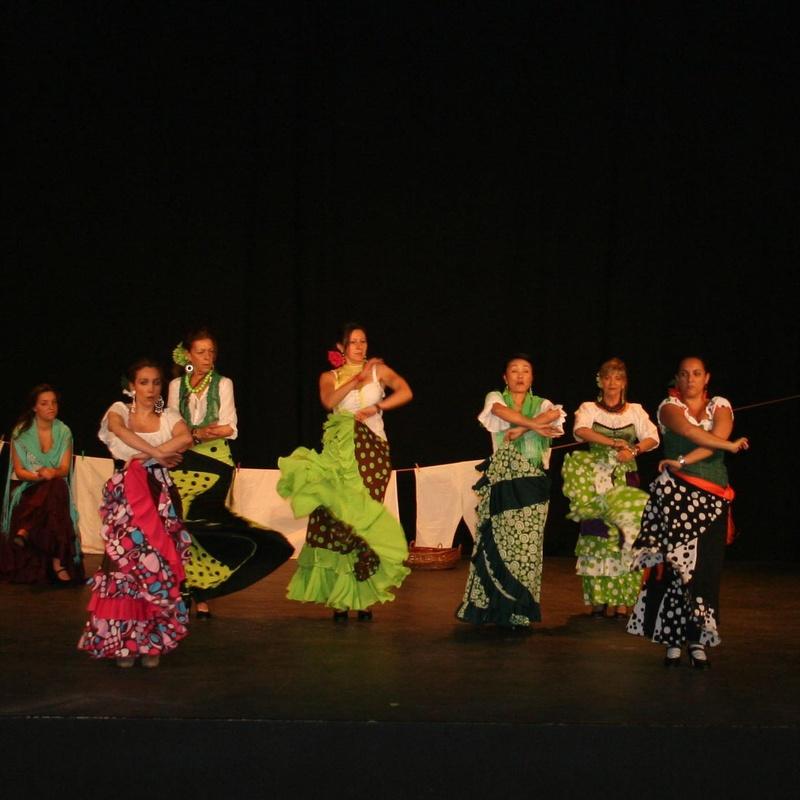 Cuadro flamenco Gala XXVII Aniversario