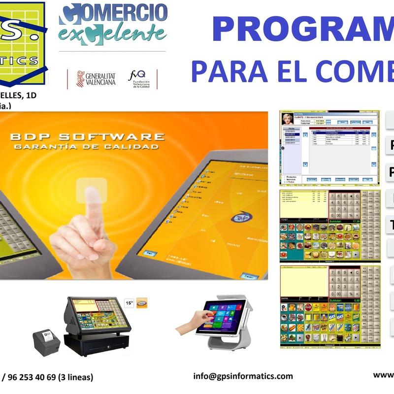 Software: Servicios informáticos de G.P.S. Informàtics, S.L.