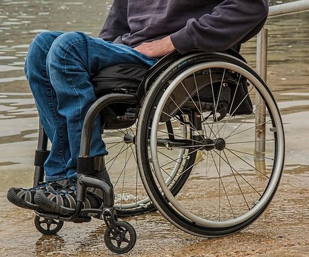 Posición correcta en las sillas de ruedas