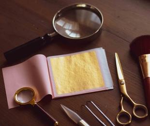 Curso de técnicas y restauración de dorado presencial