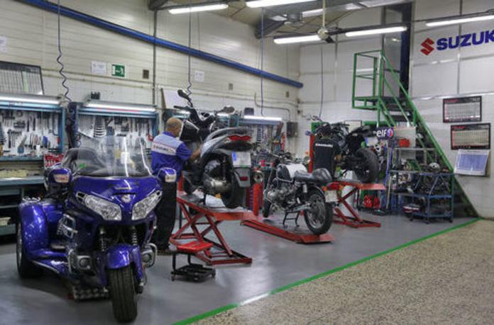 Pintores de motos: Servicios de Motos Ángel Díaz