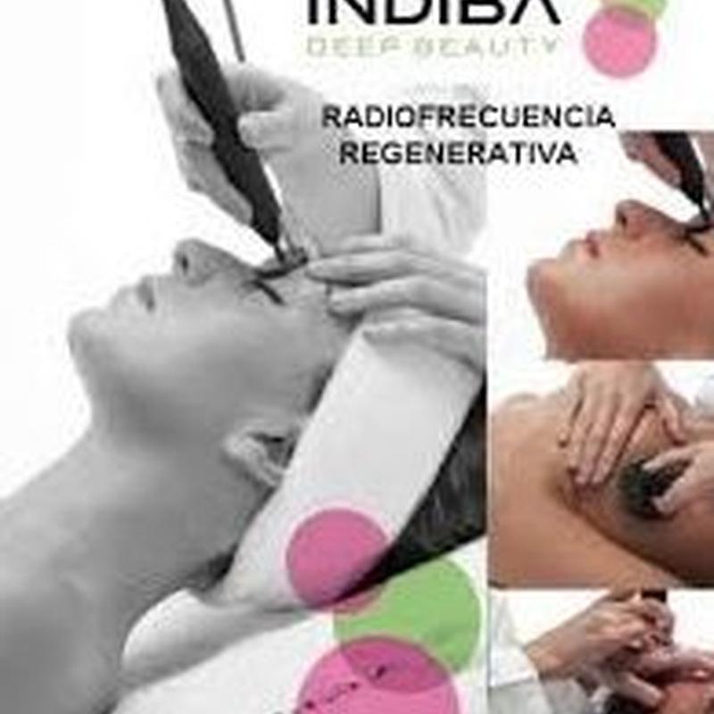 Radiofrecuencia Indiba corporal: Tratamientos y cosméticos de Etherma