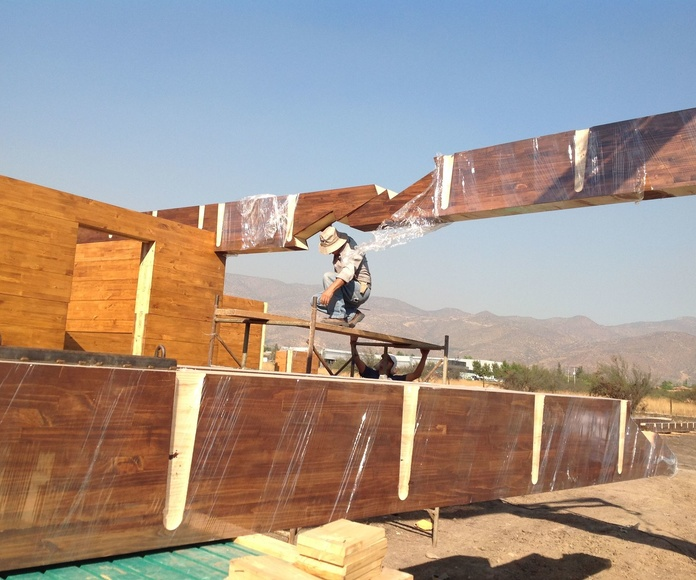 Construcciones madera Laminada Rayo Jupiter