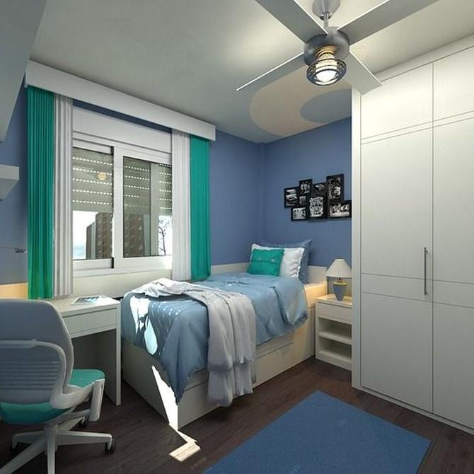 Cuatro funcionalidades del dormitorio juvenil