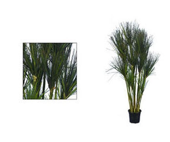 Planta Grass PVC de 120 cm.