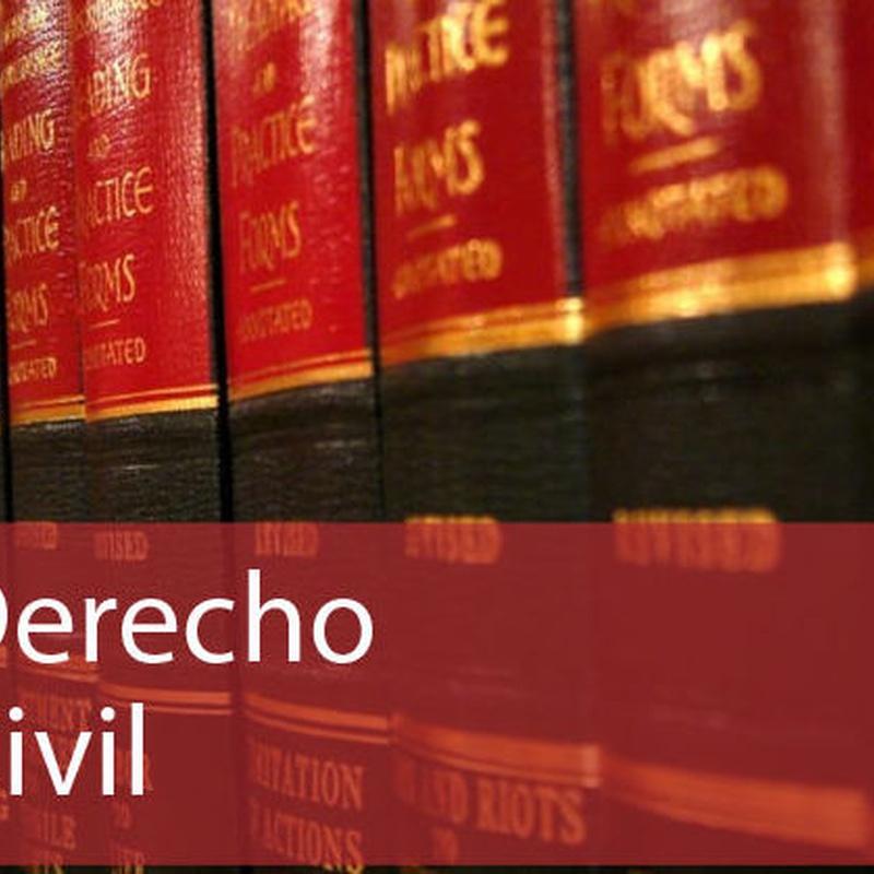Civil: Especialidades de Santos & Sardà Abogados