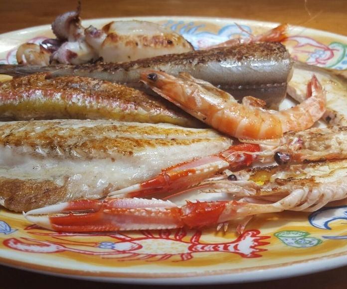 Pescados: Carta de Restaurante Mena