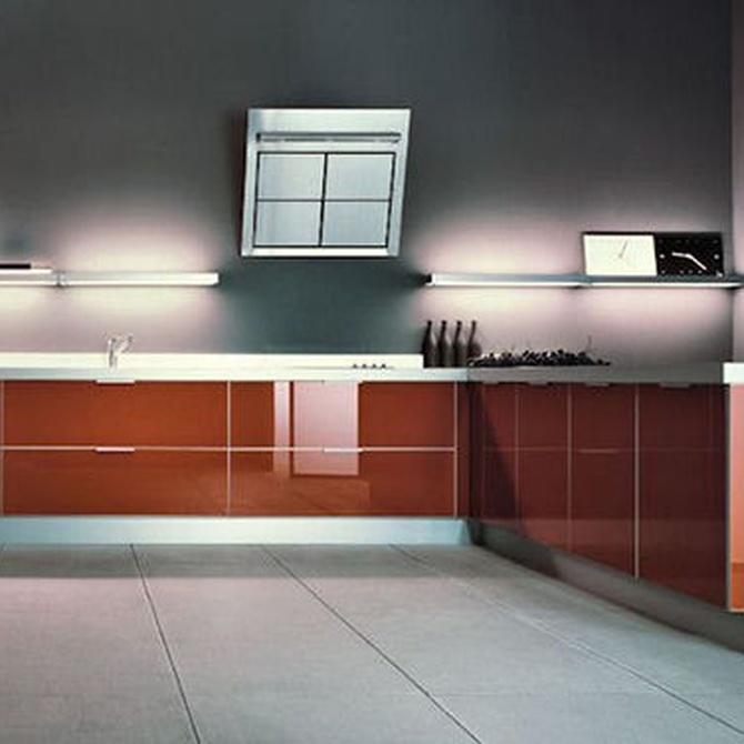 Tipos de materiales para la cocina
