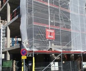 Empresa dedicada al montaje y alquiler de andamios
