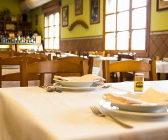 Menú nº 1: Carta de Restaurante Sidrería Llagar Herminio