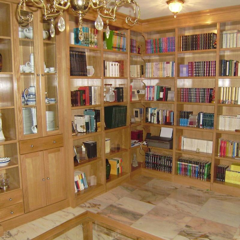 Librerías: Servicios de Ebanistería y Carpintería Martín