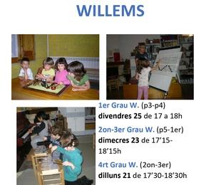 Clases gratuïtas de iniciación musical de 3 a 7 años