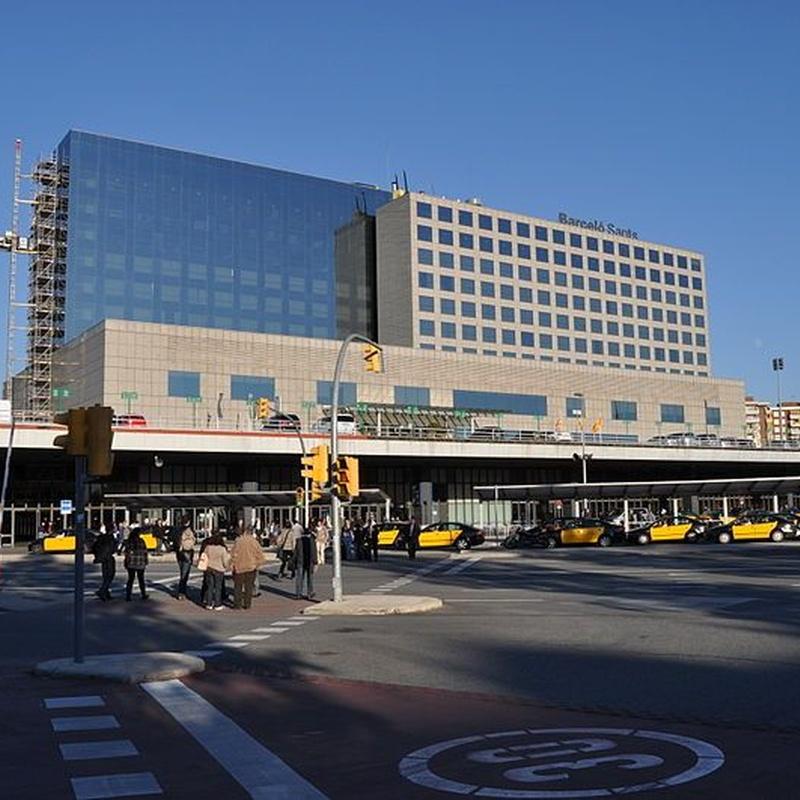 Estaciones de tren: Servicios de Taxis Bages