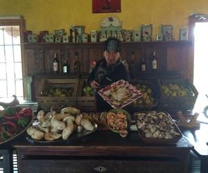 Florencio Sanchidrián embajador internacional del jamón ibérico y mejor cortador de jamón del mundo en la Hueveria del Ganso.