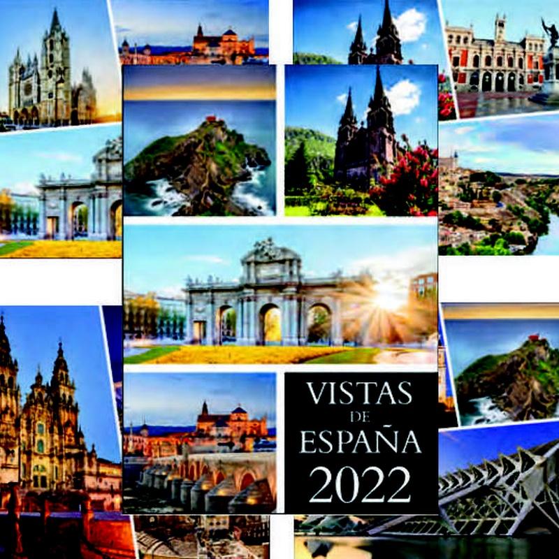 Ref. 226 - Vistas de España: Nuestros Productos de Gráficas Kalendex