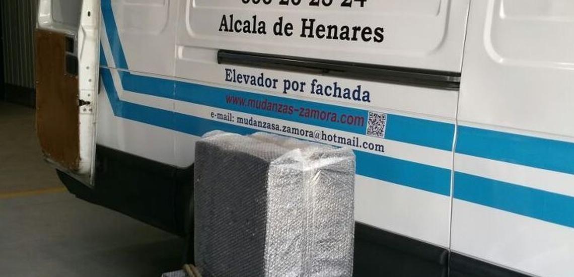 Empresas de transportes y mudanzas en Alcalá de Henares