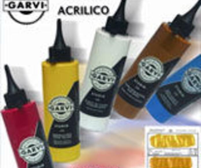 Acrílicos Garvi: Bellas Artes de La Casa del Artista P. Chicano