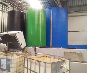 Planta de reciclaje de aceites usados de cocina en Valencia