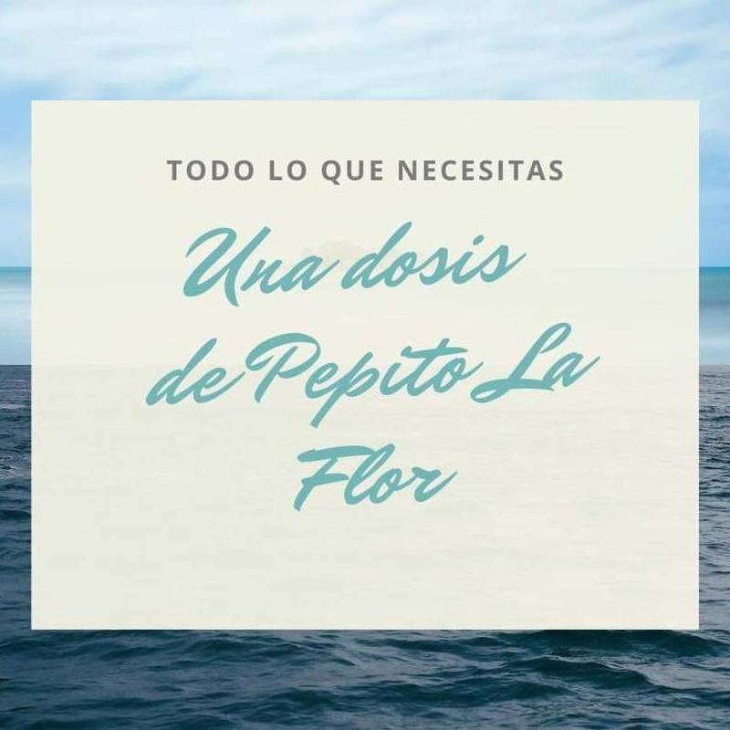 MENÚ SENSACIONES: Nuestra carta de Restaurante Pepito La Flor