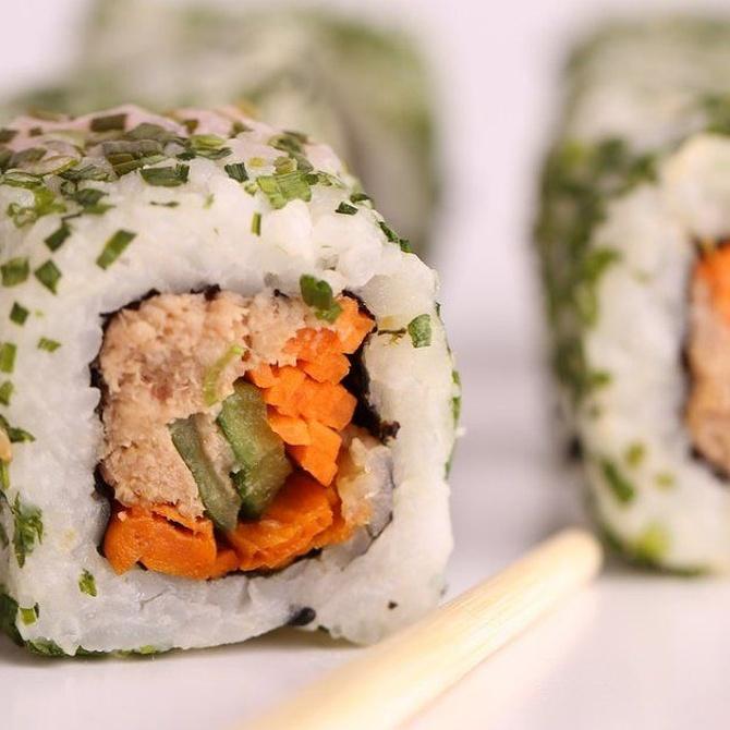 La clave de un buen sushi es la materia prima