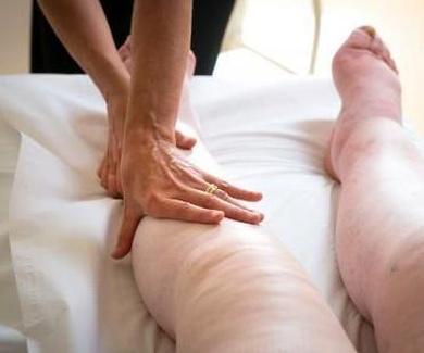 Piernas hinchadas, fisioterapia en Alcorcón