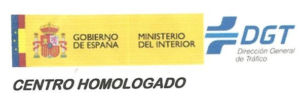 CENTRO HOMOLOGADO POR LA DGT